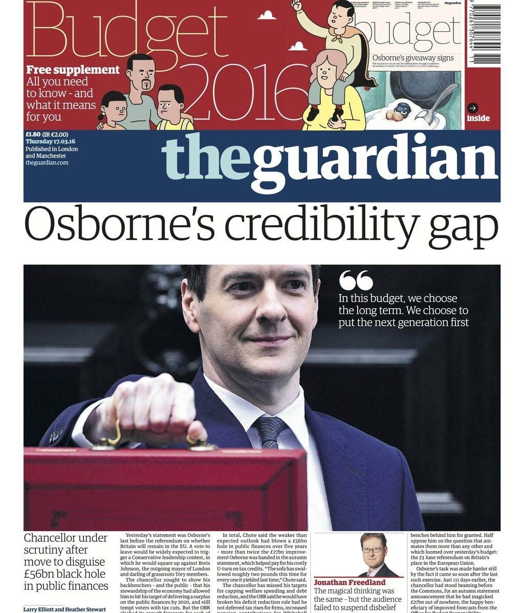 Portada 'The Guardian'