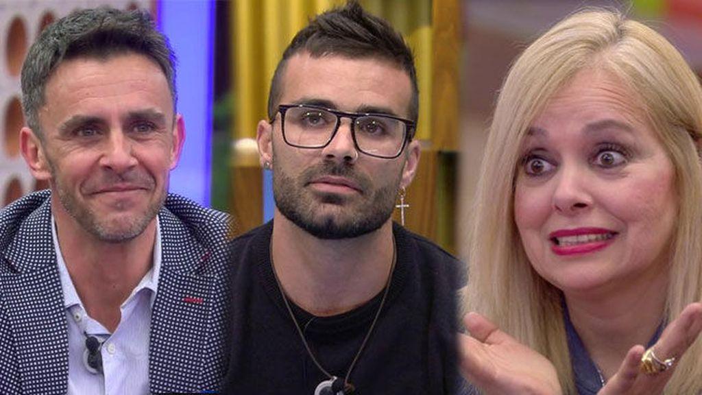 Alonso Caparrós, Tutto Durán y Emma Ozores 'GH VIP'