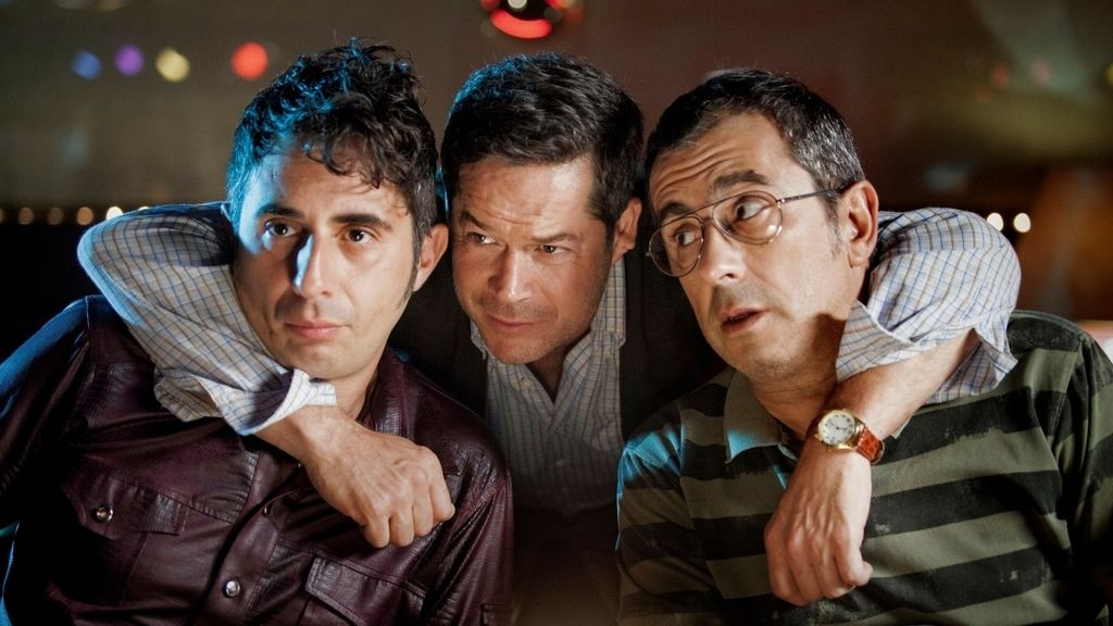 El pregón, película. Andreu Buenafuente, Berto Romero, Jorge Sanz