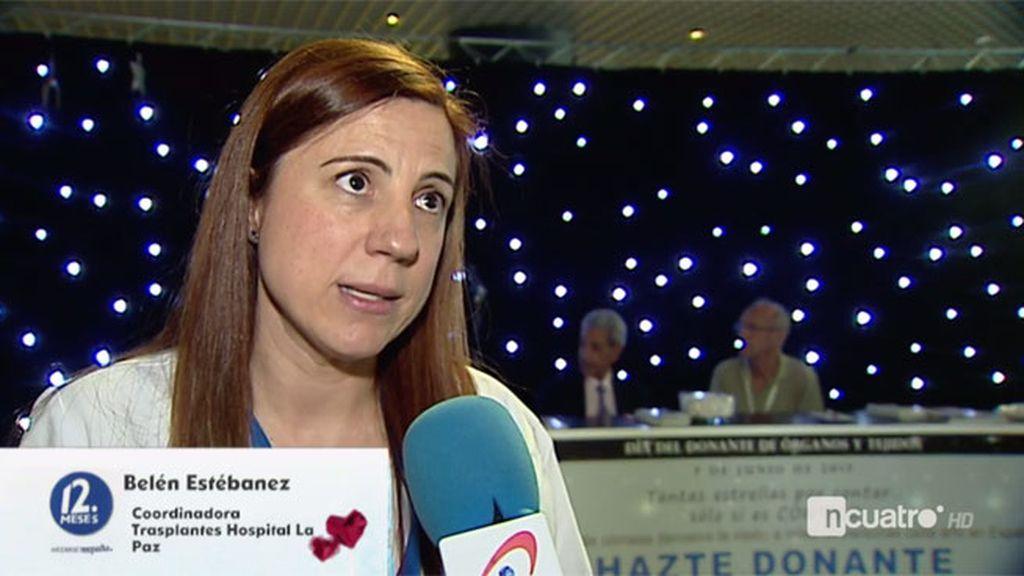 """Beatriz Estébanez: """"Con un solo donante podemos trasplantar a cuatro personas"""""""