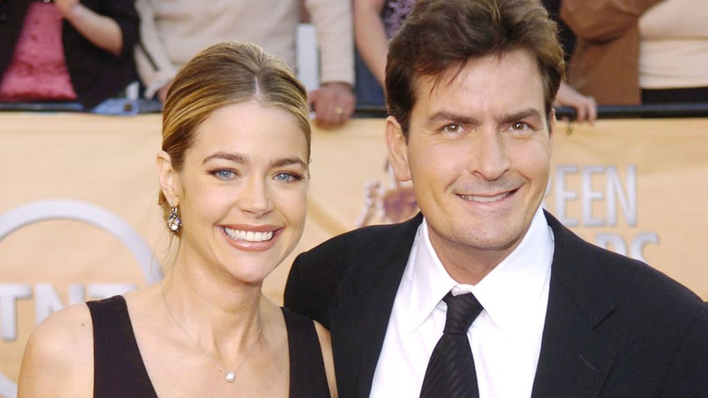 Charlie Sheen y Denise Richards