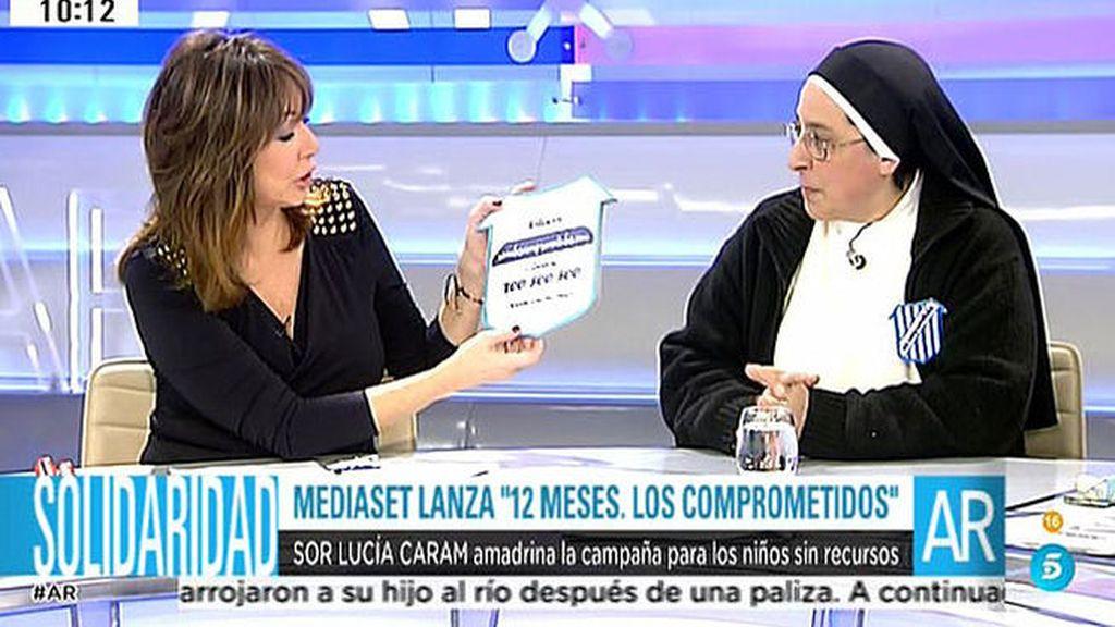 """Sor Lucía: """"El objetivo es que los padres de estos niños consigan un empleo de calidad"""""""