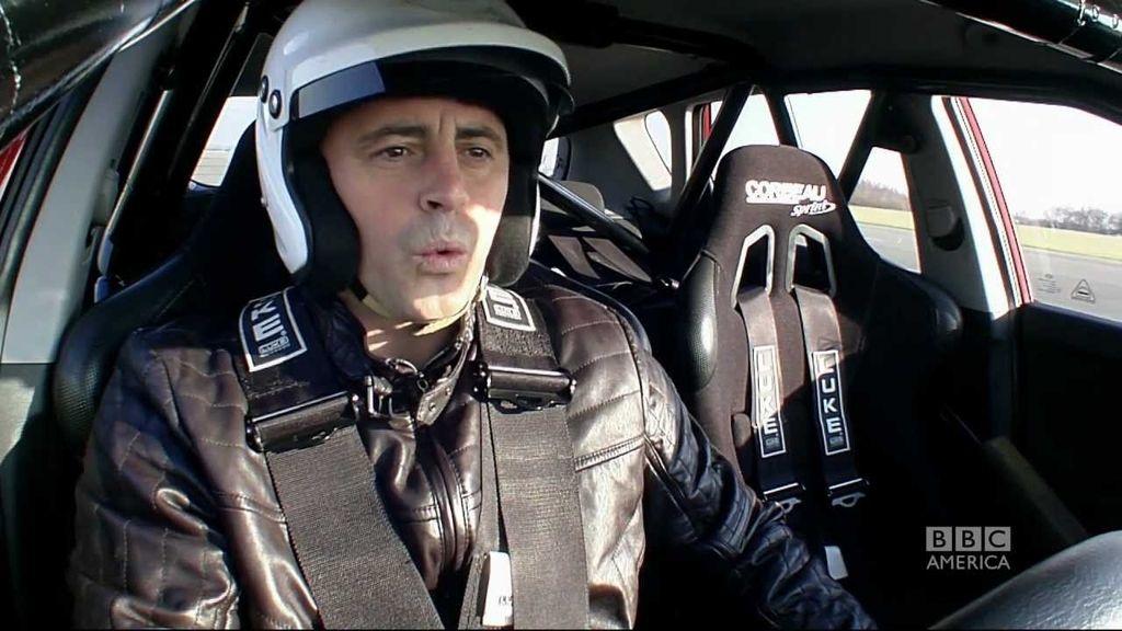 Matt LeBlanc se pone a prueba en 'Top gear'