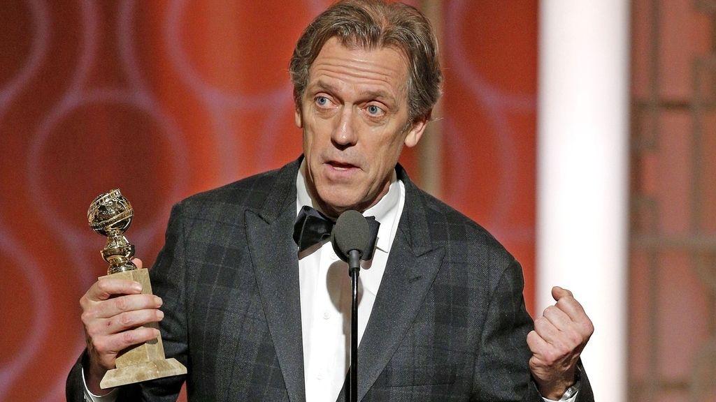 Globos de oro. Hugh Laurie. El infiltrado