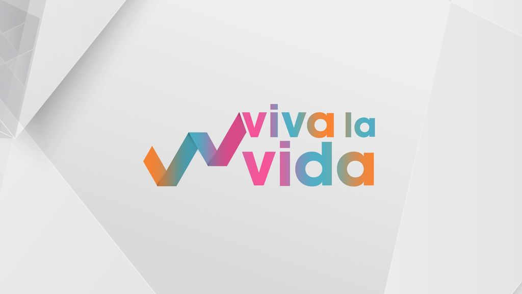 Así es el logo de 'Viva la vida', el nuevo programa de Toñi Moreno en Telecinco