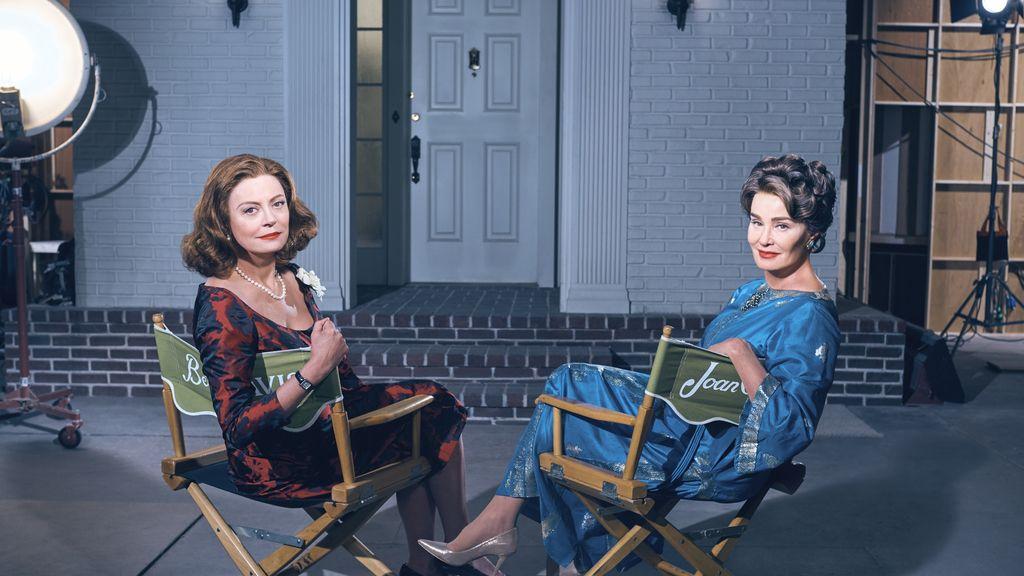 Susan Sarandon y Jessica Lange son Bette Davis y Joan Crawford en 'Feud', de HBO