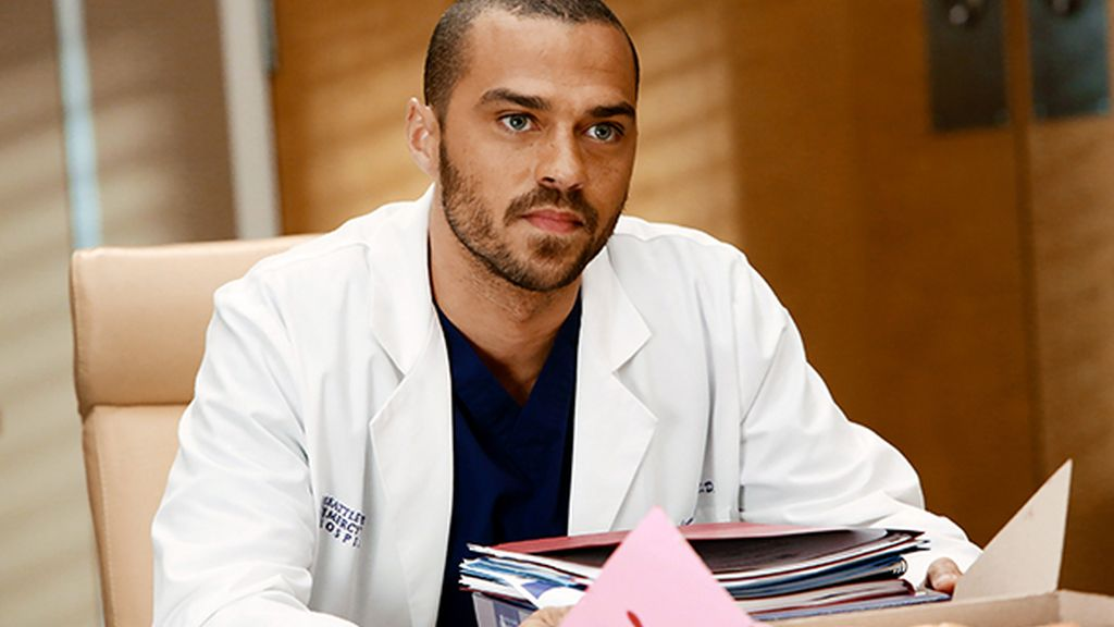 Jesse Williams (doctor Jackson Avery), en una escena de 'Anatomía de Grey'