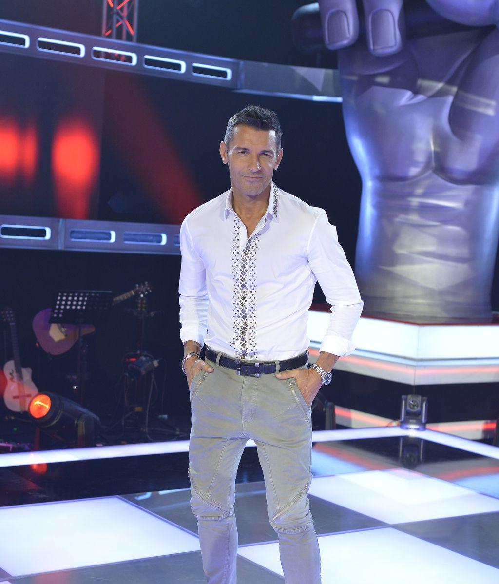 Jesús Vázquez, presentador de los programas de Telecinco 'La voz' y 'La voz kids'