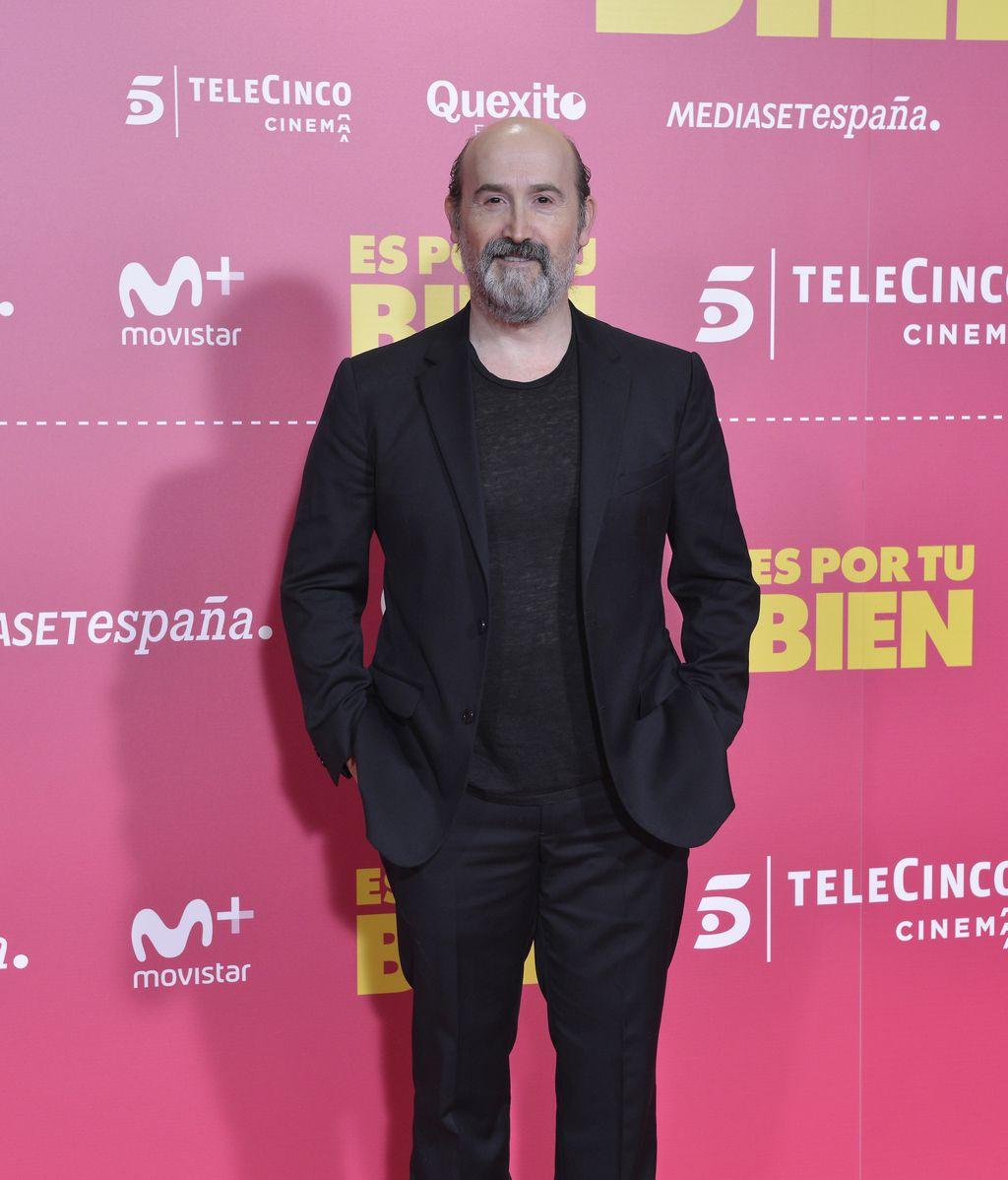 Javier Cámara en la presentación de la película de Telecinco Cinema 'Es por tu bien'