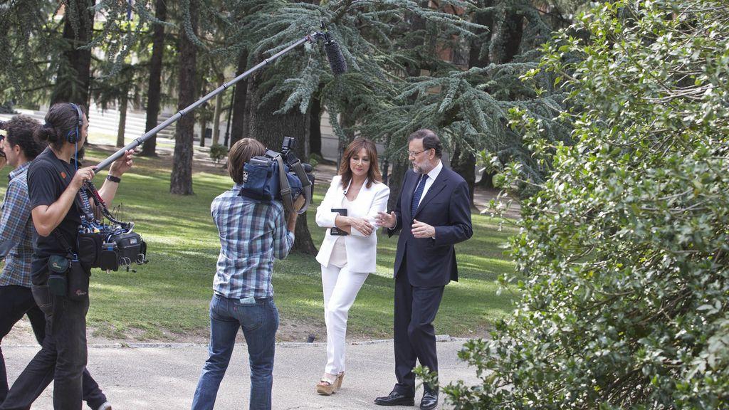 Mariano Rajoy en El programa de Ana Rosa