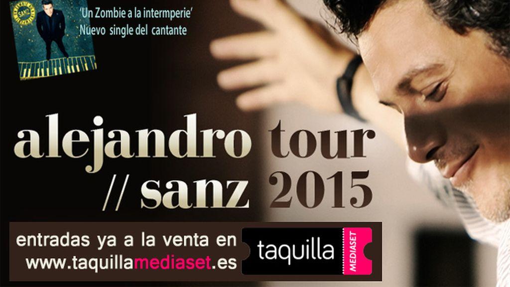 Alejandro Sanz tour 2015 compra tus entradas en Taquilla Mediaset
