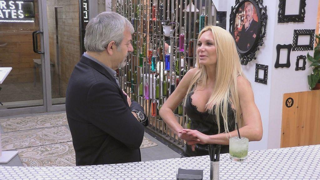 Yola Berrocal en 'First dates: especial VIPS'