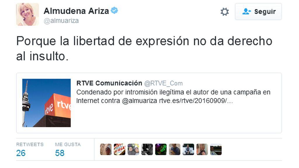 Tuit Almudena Ariza
