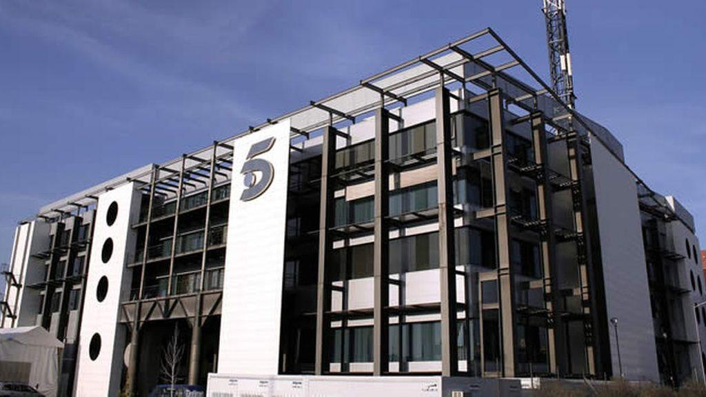 Fachada del edificio de Mediaset España
