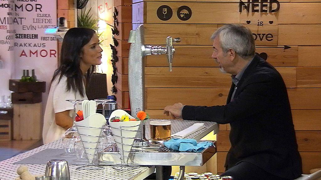 Ana, candidata a camarera de 'First dates'