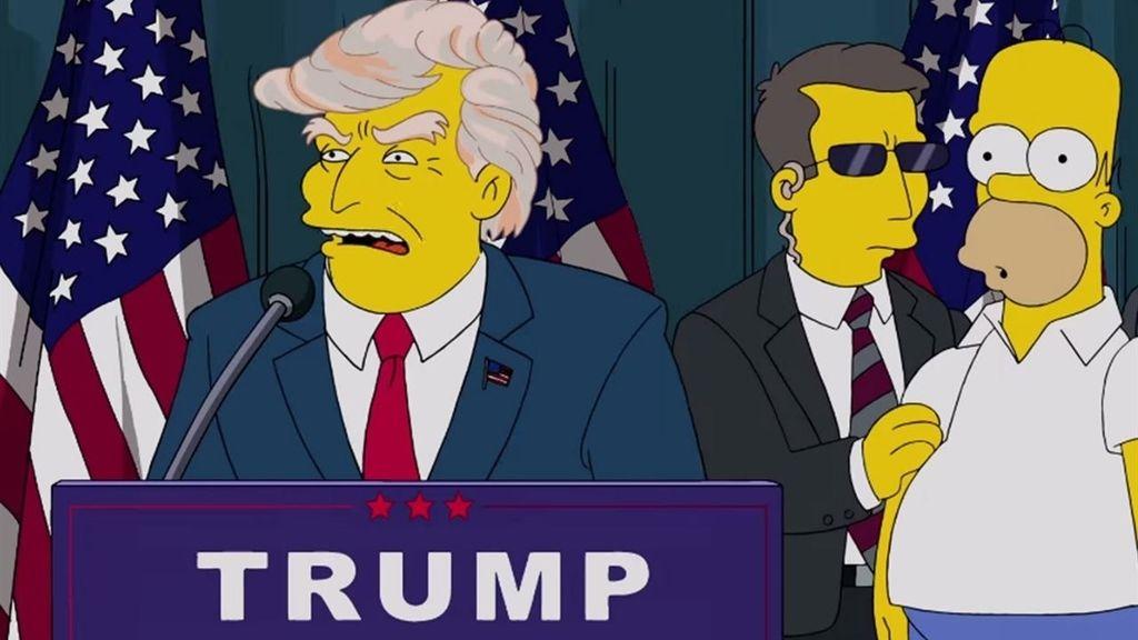 Donald Trump, Homer Simpsons