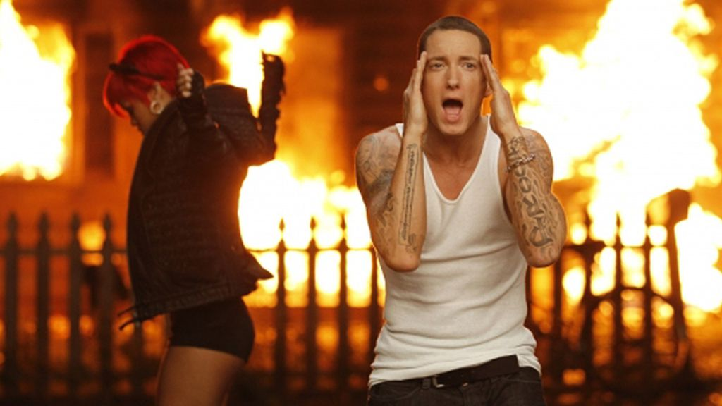 Eminem. 'Love the way you lie'. 813.000.000 visitas