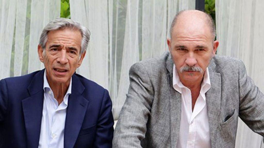 Imanol Arias y Darío Grandinetti