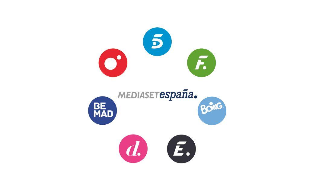 Logo circular de Mediaset