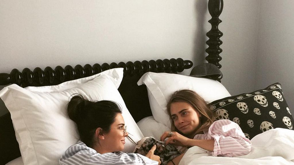 Cara Delevingne y Kendall Jenner