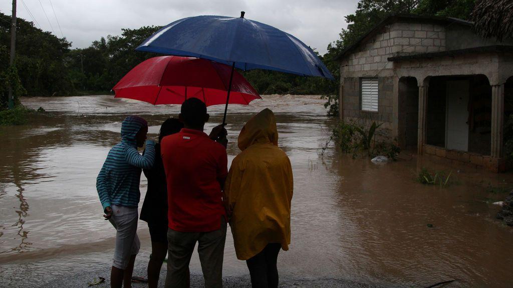 El huracán María llega a la República Dominicana