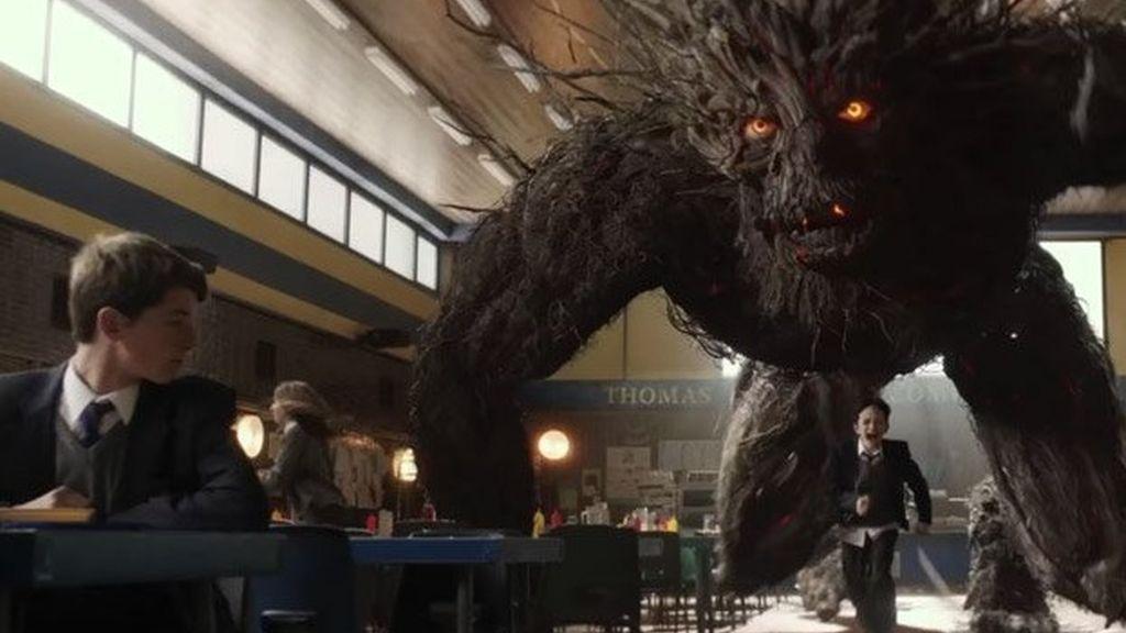 """El """"miedo"""" de Lewis MacDougall en 'Un monstruo viene a verme'"""