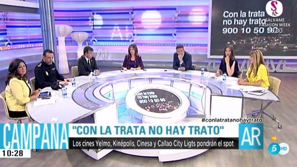 Los cines españoles, comprometidos con la campaña 'Con la trata no hay trata'