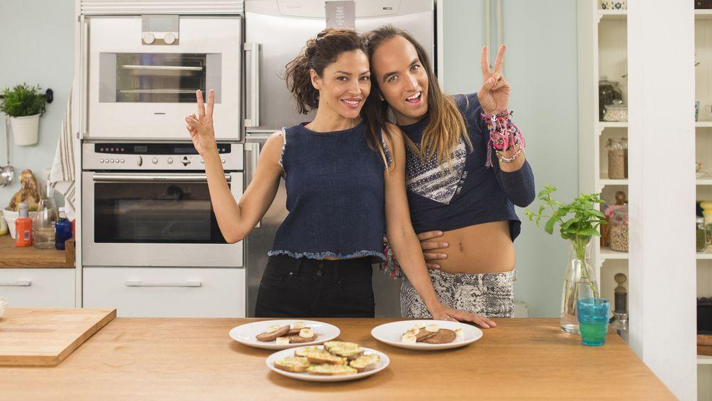 Yo sí que como. Fox life. Patricia Pérez y Aless Gibaja