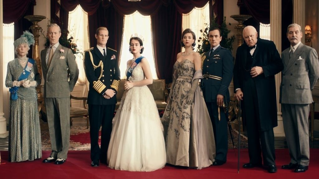 Netflix presenta a una joven Isabel II en 'The crown'