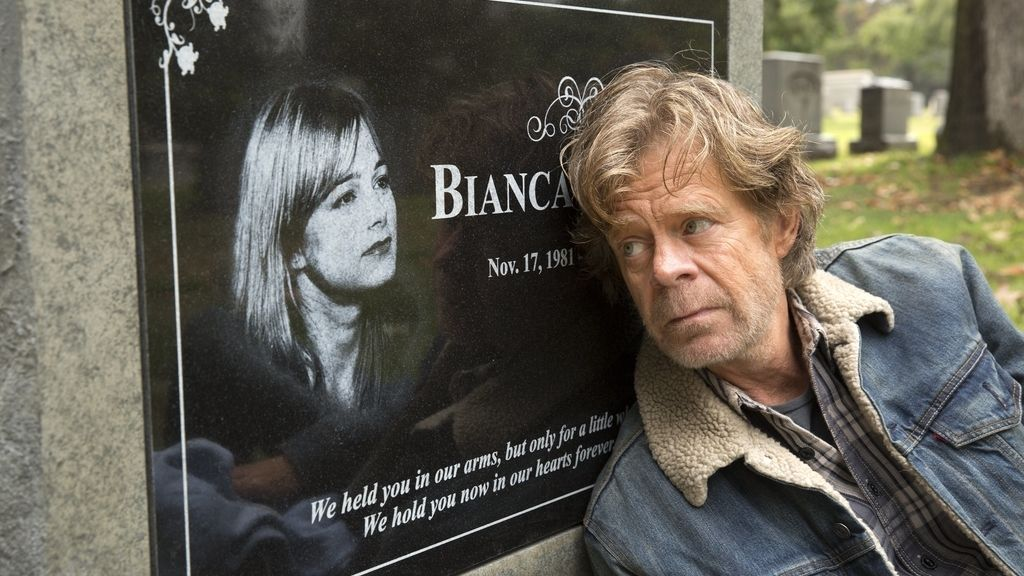 Frank Gallagher (William H. Macy), en una escena de la sexta temporada de 'Shameless'