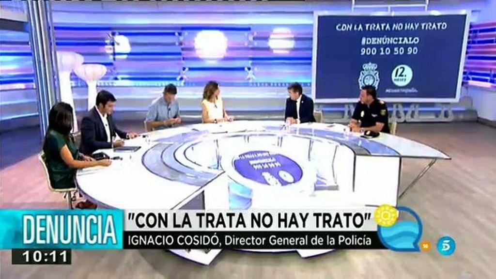 """Ignacio Cosidó: """"La campaña 'Con la trata no hay trato' está siendo un éxito"""""""
