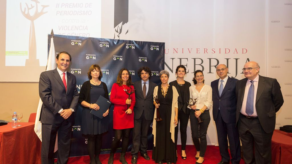 II Premio de Periodismo Fundación Grupo Norte contra la Violencia de Género para 'Amores que duelen'