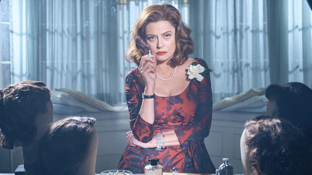 Susan Sarandon es Bette Davis en 'Feud', de HBO