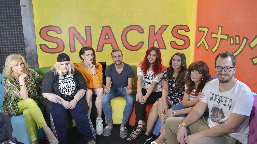 Los influencers desembarcan en Cuatro con 'Snacks de tele'