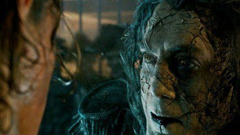 Javier Bardem se transforma en el malvado capitán Salazar en 'Piratas del Caribe 5'
