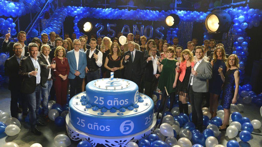 Presentadores de Telecinco