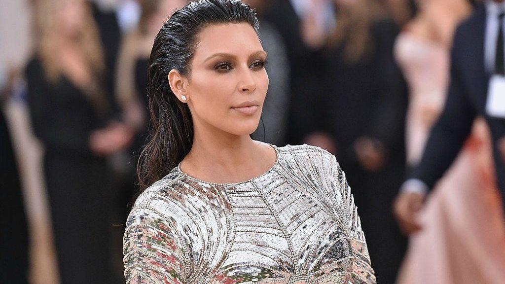 Kim Kardashian en la Gala Met 2016