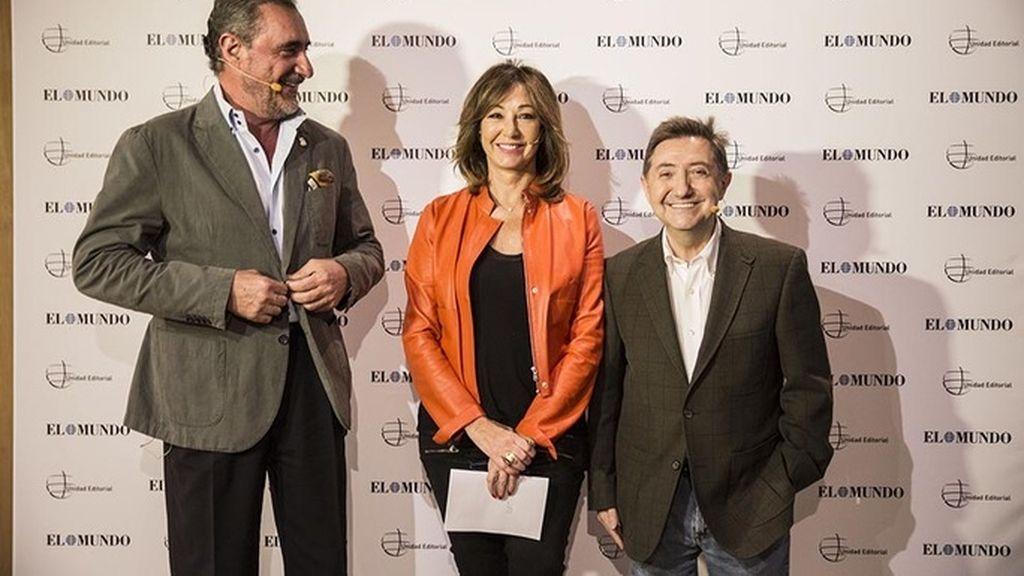 Carlos Herrera y Ana Rosa Quintana