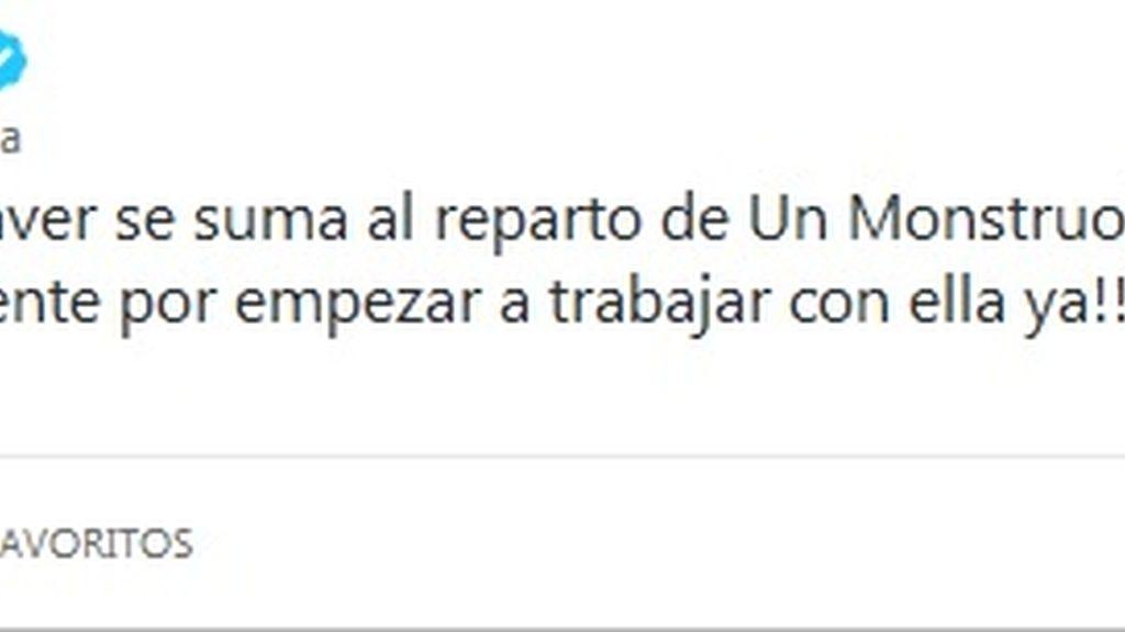Twitter Juan Antonio Bayona Sigourney Weaver