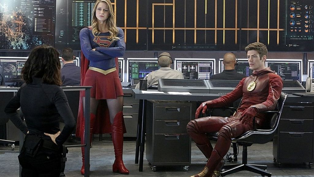 "'The Flash', 'Arrow'', 'Supergirl' y 'Legends of tomorrow' se citan en el ""mayor 'crossover"""