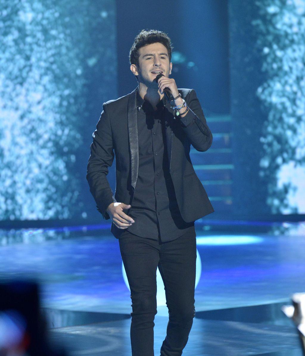 Carlos, finalista de 'La voz 4'