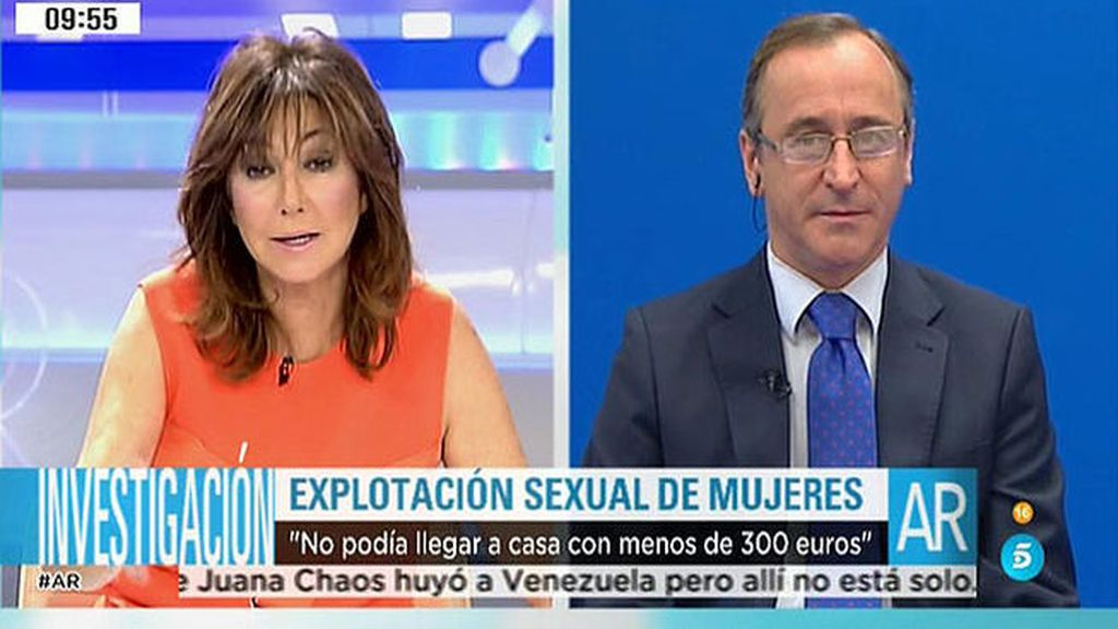 Alfonso Alonso presenta un Plan Integral contra la Trata de seres humanos