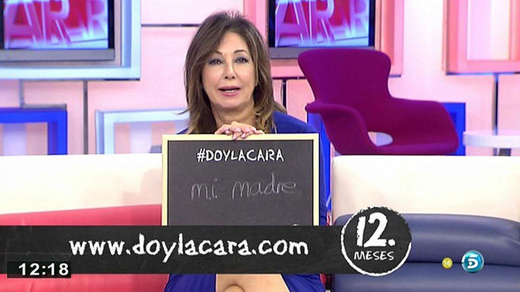 Ana Rosa Quintana da la cara por su madre