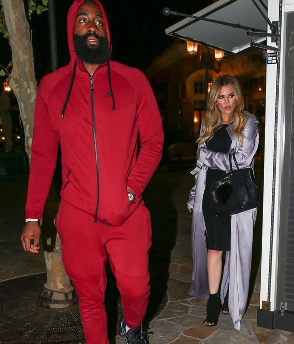 Khloé Kardashian y James Harden