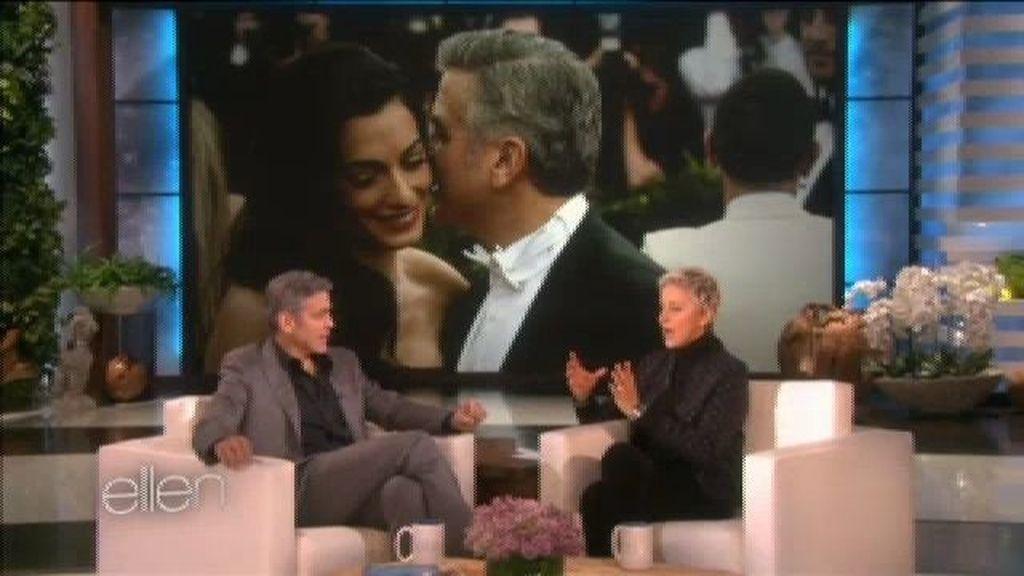 George Clooney esperó 25 minutos a que Amal le diera el sí