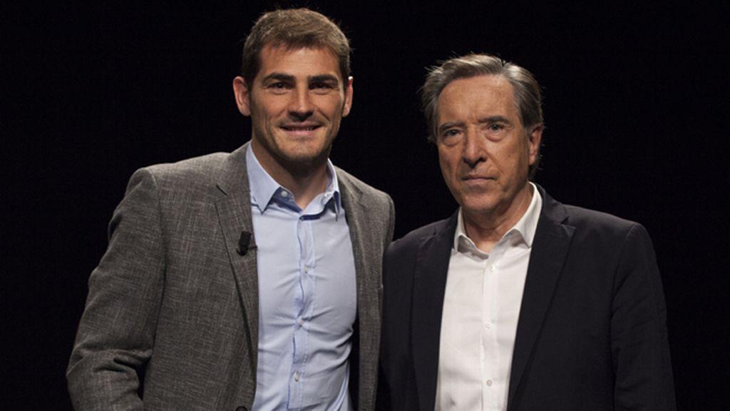 Gabilondo pregunta a Iker Casillas por Sara Carbonero y por el 'topo'
