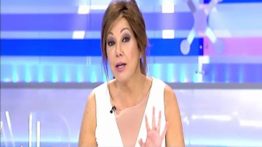 Ana Rosa Quintana anuncia el estreno de la campaña 'Con la trata no hay trato'