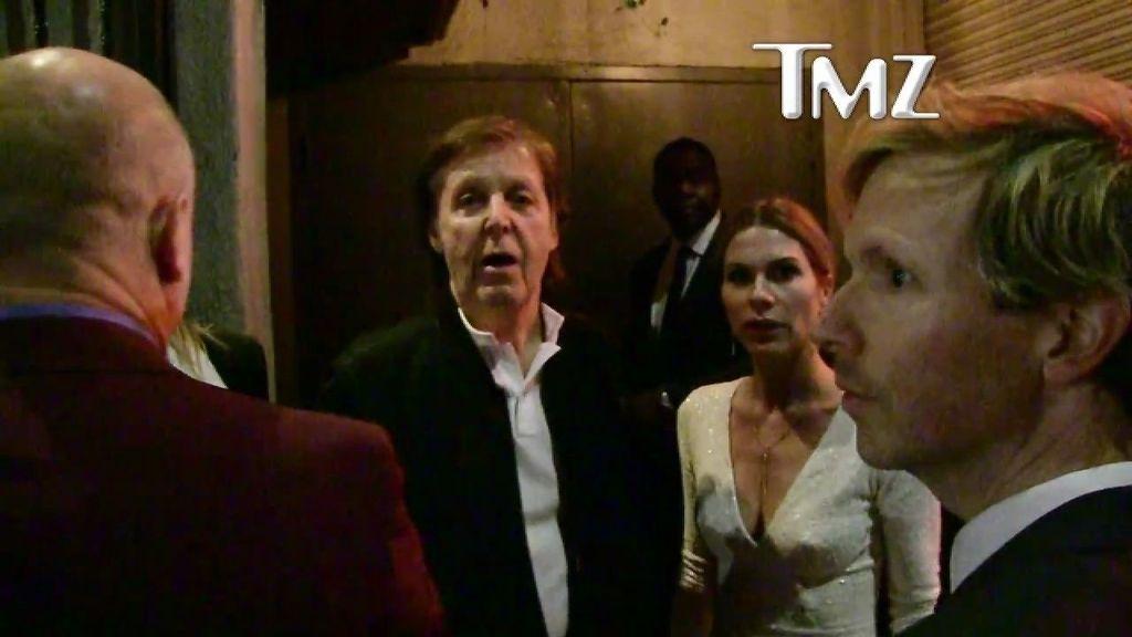 Paul McCartney, vetado en la fiesta de Tyga, el novio de Kylie Jenner