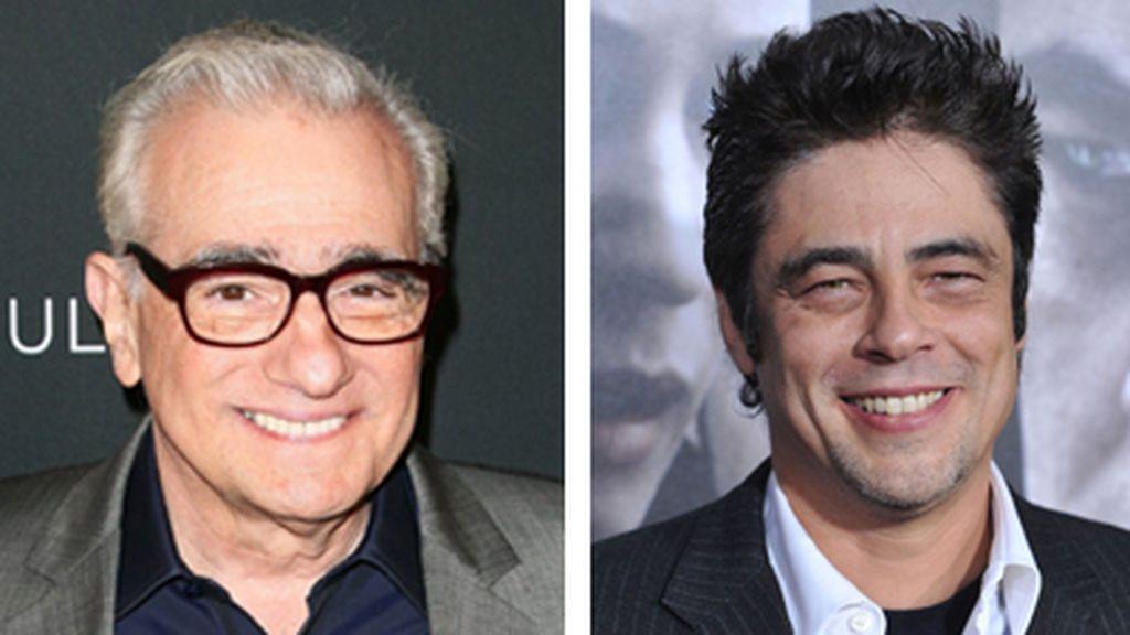 Martin Scorsese y Benicio Del Toro
