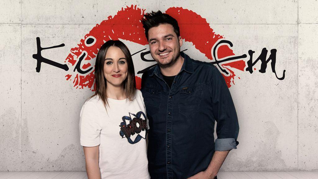 Xavi Rodríguez y María Lama